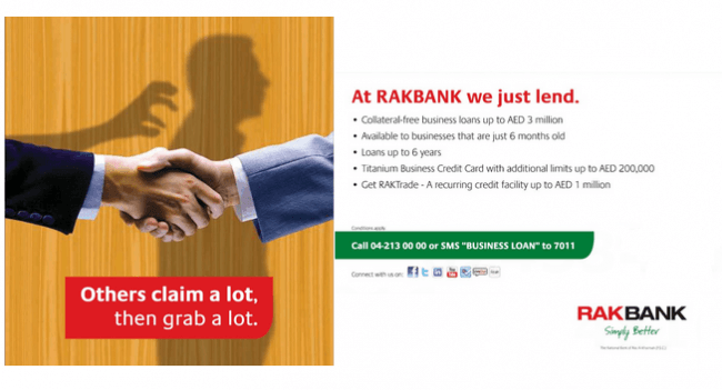 Rak Bank Business Loan