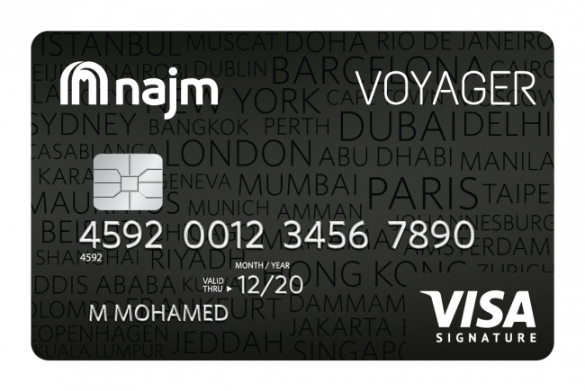 Card Voyager Signature