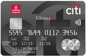 Citi bank Ultimate Credit Card